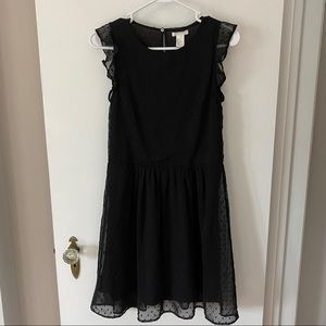 H&M Black Polka Dot Dress